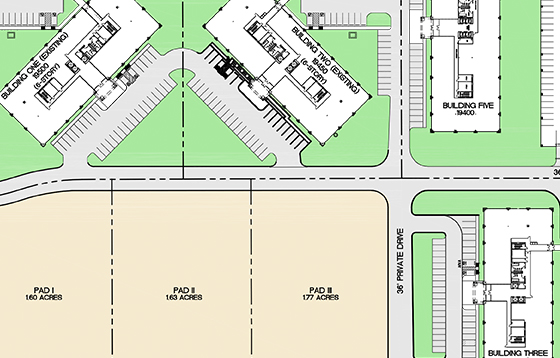 Chasewood Crossing siteplan