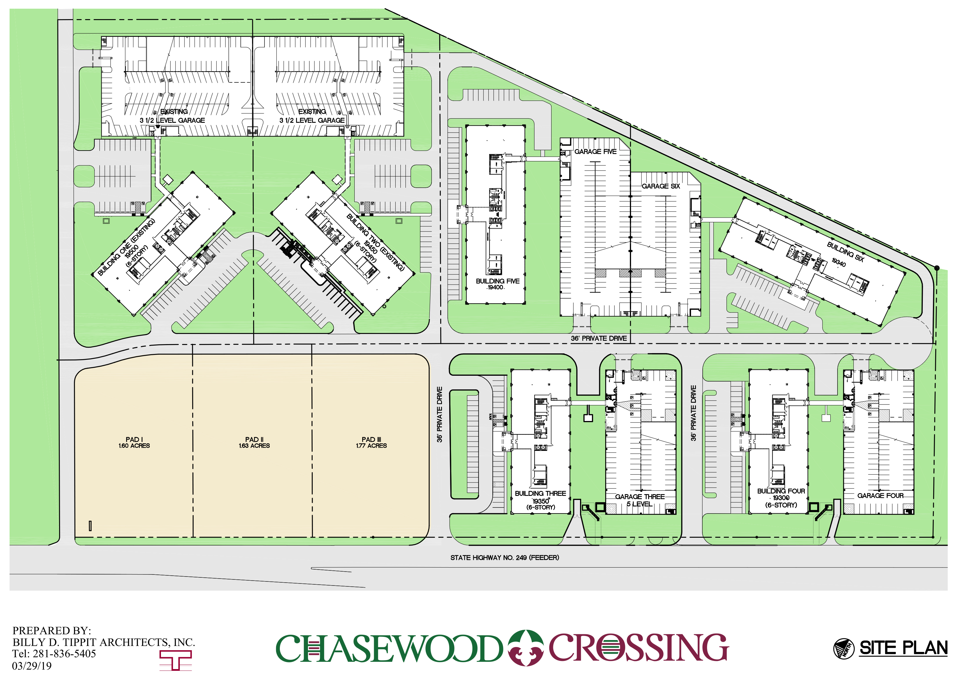 Chasewood Crossing 249SITEPLAN