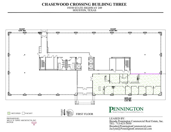 Chasewood Crossing 19350 : First Floor