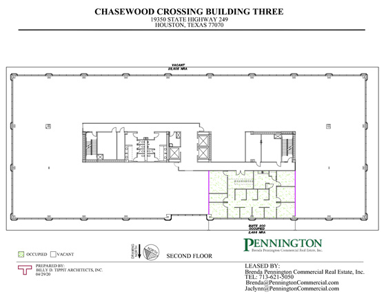 Chasewood Crossing 19350 : Second Floor