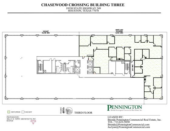 Chasewood Crossing 19350 : Third Floor