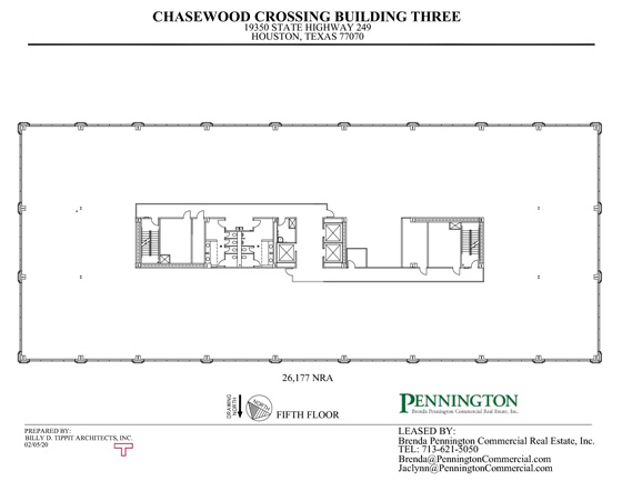 Chasewood Crossing 19350 : Fifth Floor